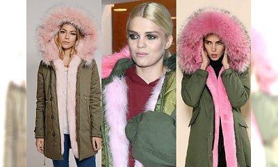 Parka z różowym futerkiem to hit tej zimy! Do czego ją nosić?