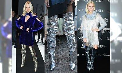 Metaliczne srebrne buty to hit na salonach! Zainwestuj w gwiazdorski look