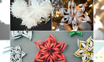 Piękne świąteczne papierowe ozdoby, które zrobisz sama - baza pomysłów na dekorację świąteczne!