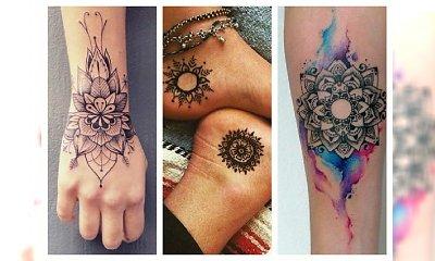 Mandala tattoo jest na czasie- bardzo kobiecie wzory!
