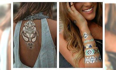 Tymczasowe tatuaże to świetna alternatywa dla niezdecydowanych! Zobacz sama !