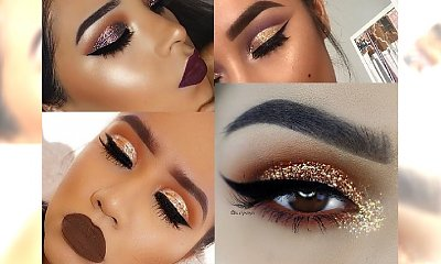 Glitter makeup - idealne propozycja na Sylwestra