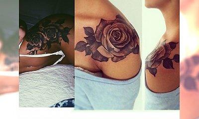 Różany tatuaż: seksowne propozycje na ozdoby ciała z motywem róż
