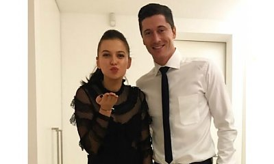 Ale sexy mama! Ciężarna Anna Lewandowska w czarnej mini i długich kozakach na imprezie Bayernu