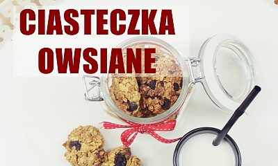 Ciasteczka owsiane do słoika - idealne na PREZENT!