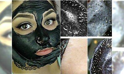 Czarna maska - blogerski hit na trądzik, przebarwienia i wągry. Zobaczcie, jak działa!