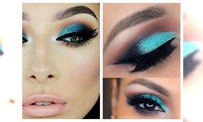 Niebieski makijaż oczu- odważysz się ? Propozycje na makijaż sylwestrowy