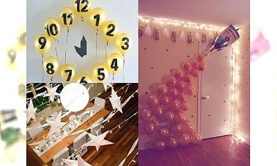 Fantastyczne dekoracje na sylwestrową domówkę - poczuj się jak na bankiecie!