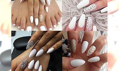 Śnieżny manicure - propozycje idealne na zimowe dni