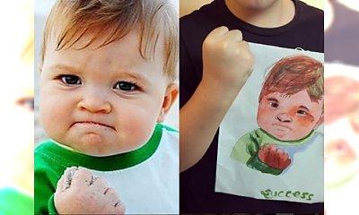 WOW! Pamiętacie to zdjęcie? Ten chłopiec ma teraz 9 LAT! Zobacz, jak wygląda i do czego przydał mu się jego popularny portret...