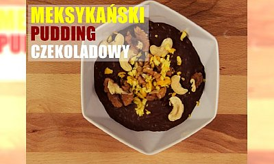 Meksykański pudding z czekoladą i chilli