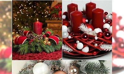 Stroik ze świecą na Boże Narodzenie - jeszcze więcej wspaniałych pomysłów!