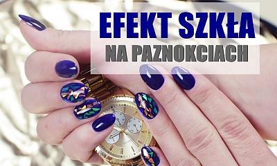 BROKEN GLASS manicure - Zobacz, jak zrobić paznokcie z efektem szkła! Idealne na Sylwestra