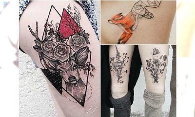 Nowoczesne tatuaże dla kobiet - niezwykłe wzory, zaskakujące motywy