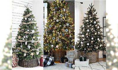 Jak ozdobić żywą choinkę - 20 pomysłów na stylową dekorację prawdziwego drzewka