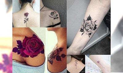Rose tattoos: 25 inspiracji na tatuaż z motywem, który kochacie!