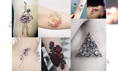 TOP 30-STKA! Przegląd stylowych tatuaży z motywem kwiatów - niesamowicie charyzmatyczne i kobiece!