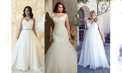 Najpiękniejsze suknie ślubne dla puszystych. Galeria z inspiracjami