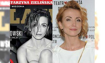 Katarzyna Zielińska na okładce