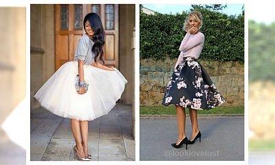 Jak nosić rozkloszowane spódnice? Pomysły na stylizację!