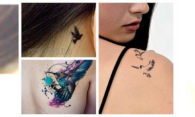 Najlepsze tatuaże z motywem ptaka - duża galeria inspiracji!