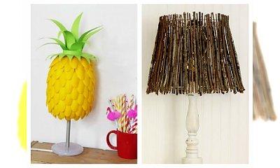 Piękne lampy DIY, które zachwycą każdą z Was! Postaw na oryginalość