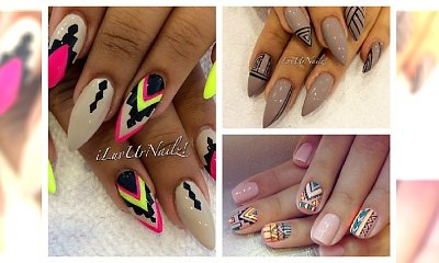 Aztec manicure jest na topie- pokochasz ten trend!