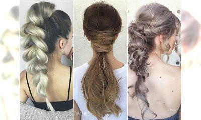 Modne fryzury na studniówkę: warkocze, koki, kucyki