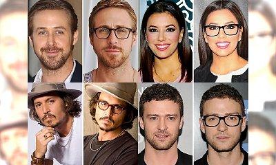 Te gwiazdy wyglądają lepiej w okularach! Jednak Ryan Gosling i Justin Timberlake mogą być jeszcze bardziej przystojni! [GALERIA]