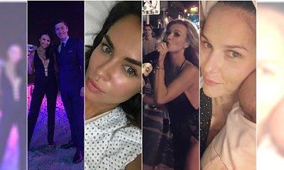 Sylwester gwiazd: Lewandowscy w Dubaju, Siwiec w szpitalu, Rusin na wyprawie w Chile