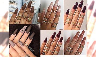 Hot Chocolate Nails - paznokcie w kolorach gorącej czekolady