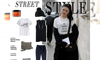 Kristina Bazan - street style znanej blogerki