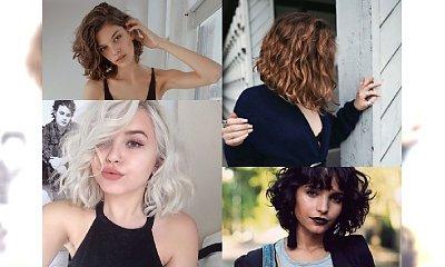 CURLY BOB - fryzurka idealna dla kobiet z charakterem! Najpiękniejsze odsłony boba z kręconymi włosami