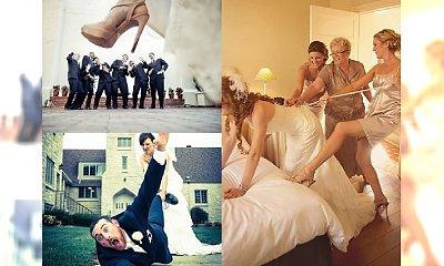 Najzabawniejsze zdjęcia ślubne, jakie widzieliście! Ci ludzie zapewnili sobie rewelacyjną pamiątkę. #17 najlepsze!