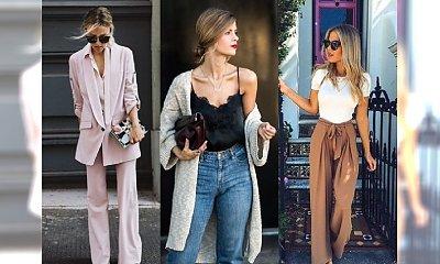POŻEGNAJ SIĘ Z RURKAMI! Przegląd spodni, które będą modne w tym roku. Nie ma wśród nich od lat uwielbianych rurek... Co nosić?