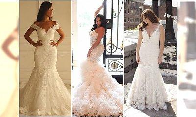 Zjawiskowe suknie ślubne dla kobiet o pełnych kształtach i plus size! Obalamy MITY