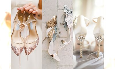 WIELKI PRZEGLĄD: Najpiękniejsze buty ślubne na 2017 rok - płaskie i na obcasie. 25 fantastycznych modeli