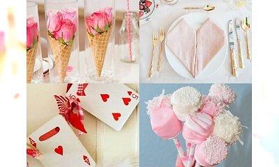 Do Walentynek zostały 2 tygodnie! Galeria nietuzinkowych ozdób na romantyczny wieczór w domu. Pokochacie je!
