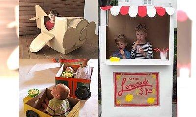 Mieć takich rodziców to skarb! Zrobili dla swoich dzieci fantastyczne zabawki z KARTONU - galeria cudownych inspiracji