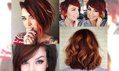 SHORT RED HAIR - rude fryzurki warte grzechu! Przegląd najlepszych cięć w ognistym kolorze