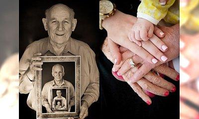 WOW! Niesamowita pamiątka: wielopokoleniowe fotografie rodzinne z pomysłem. Musicie to zobaczyć i zrobić swoje!