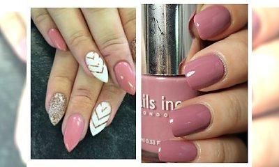 Pink manicure z klasą- idealny na walentynki! Galeria inspiracji