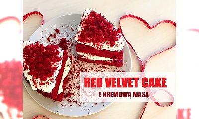 Red velvet cake z kremową masą - nie tylko na WALENTYNKI!