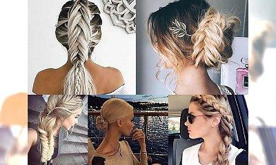 Dziewczęce fryzurki na co dzień dla włosów półdługich i długich - TRENDY 2017