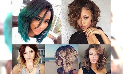 TOP 17 fryzurek średniej długości - bardzo kobiece i stylowe!