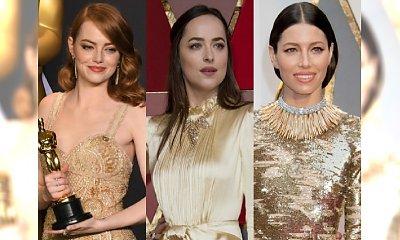 Śliczna Emma Stone i elegancka Biel. 9 NAJPIĘKNIEJSZYCH kreacji Oscarów 2017 i TRZY najgorsze