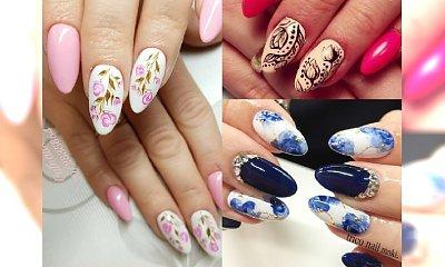 Manicure 2017: kwiatowe wzory na paznokciach. Poczuj wiosnę już teraz!
