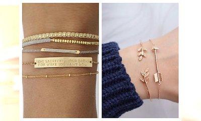 Delikatne bransoletki na rękę- zakochasz się w ich subtelności!