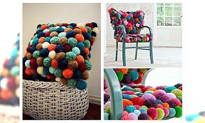 Kolorowe ozdoby DIY do Twojego domu z....pomponów. Ożyw swoje wnętrze!