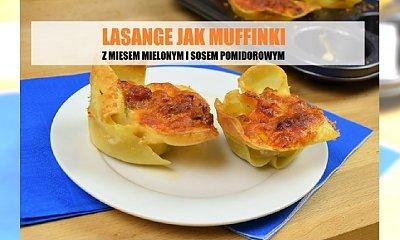 Mini zapiekanki makaronowe a la lasagne